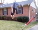 Backflip dismount