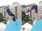 Wall flip