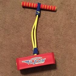 the Flybar foam jumper on carpet